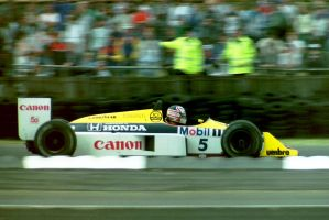 Nigel Mansell (Great Britain 1987) by F1-history