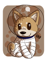 Dat Space Shiba Smeels Like a Man by CollectionOfWhiskers