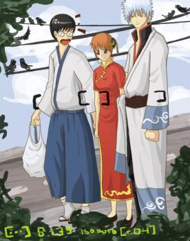 Gintama - being photographed by chuttie