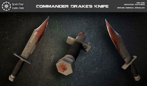 Commander Drake's knife by tidalkraken