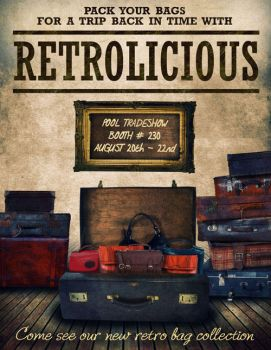 RETROLICIOUS Flyer Pack  Your Bags by gar3nx
