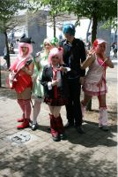 Shugo Chara Group at Expo by CrushedRAINBOWS