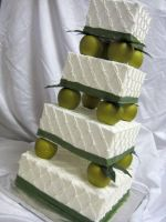 Apple Wedding Cake by forgetmmenot