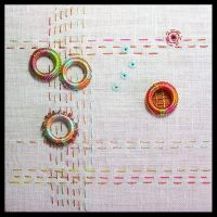 In a Circle Embroidery by MasonBee