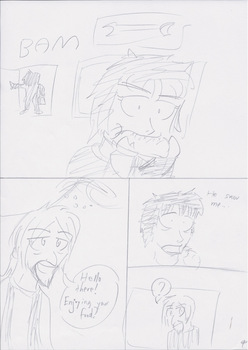 Unnamed Comic Page 9 Rough Draft by C-Survive