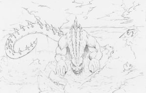 Godzilla by TheEndofOurLives