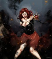 Lena Embrase The Dark by psaul20