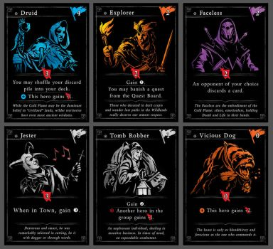 Card Game Prototype Preview 1 by Araknophobia