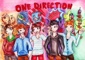 One Direction by Sooblue