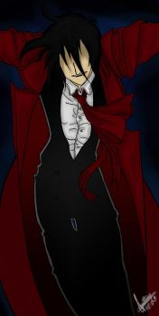 Because Alucard is a sexy B... by LuziWonka