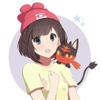 Pokemon Sun and Moon - Female trainer by wolfychu