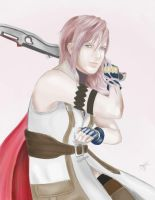 FFXIII - Lightning by Aksido