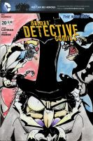 Detective Comics #20: Var. Cover (Silent Auction) by mastergloyd