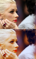 Action 2 - Xtina by stareAtyou77