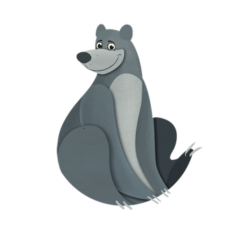 Disney challenge - Baloo  :) by IllegalHamsterThe