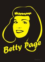 Betty Page by SashaZombie