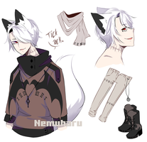 |CLOSED| Adopt Auction | Time Teller by Nemuharu