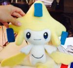 Lifesized Jirachi needle felt by sanxcharms