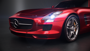 Mercedes SLS AMG Studio by ColdFusion20