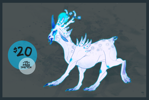 ETHEREAL ADOPTABLE - CLOSED by Wyrmin