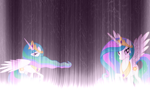 Princess Celestia Wallpaper by Npm98