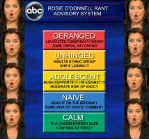 Rosie O Donnell Advisery by NFRANGA