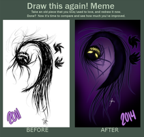 Draw This Again Meme by Di-Cape