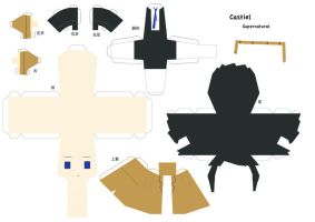 Castiel Papercraft - SPN by Yolapeoples