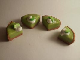 Lime Pie Charms by tyney123