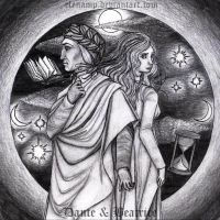 Dante e Beatrice by ElenaMP