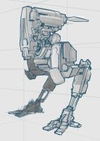 Mech doodle by rickystinger88