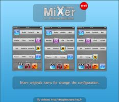 Mixer theme for ipod touch by alxboss