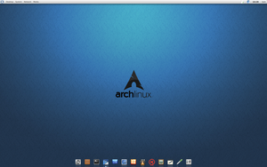 Arch Linux be::shell setting up still by CraazyT