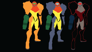 Metroid Prime Suits Samus by Oldhat104