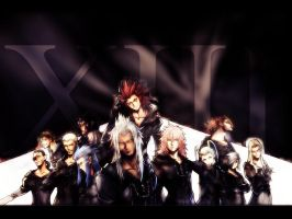 Organization XIII by inuyashagem18