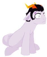 Shocked right out of it by AskCronusPony