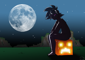 EnderGoku - Happy Halloween 2012 by xH-Chanx