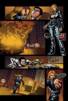 Color portfolio: The Bounce issue7 pag4 by shiprock