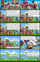 Buster Blade 2 comic 1 by ZR-the-hedgehog