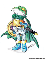 [Chrono Trigger] Frog by chronicvillainy