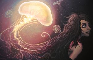 Jelly Fish Girl by Hanamah