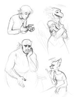 Random doodles by TheScatterbrain