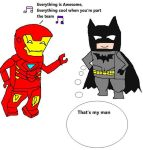 Lego Ironman's awesome song by Dinzydragon