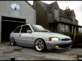 Ford Escort Zetec 01' by dxprojects