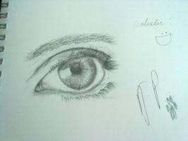Realistic Eye :attempt: by InuDemon1992
