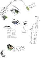 Eye sketches in MyPaint by Wastelander7