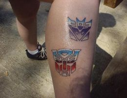Transformers Tattoo by ksi-lady-crimson