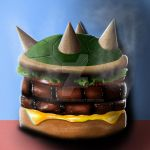 Bowser Burger by Remco506