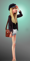 Fashion girl by victter-le-fou