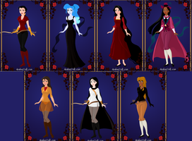 Disney Halloween 2 by menolikee